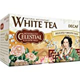 Celestial Seasonings Decaf White Tea Bags, 20 ct