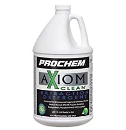 Prochem - Axiom Clean Extraction Detergent - Green Carpet Cleaning - Concentrate - 1 Gallon - S773