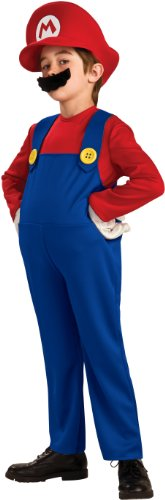 Deluxe Mario Video game Costume