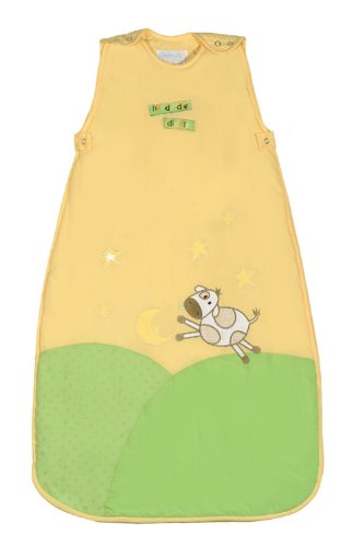 The Dream Bag Baby Sleeping Bag Hey Diddle 6-18 Months 0.5 Tog - Mango Yello