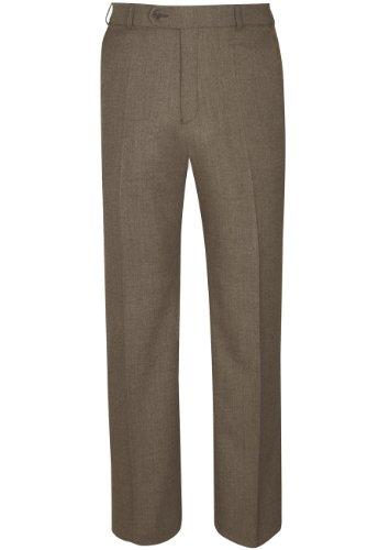 Chertsey Flannel Trouser - Caramel - 42W x 33L