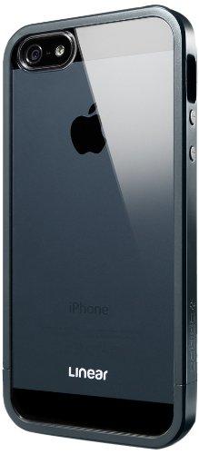 国内正規品SPIGEN SGP iPhone5/5S ケース リニア クリスタルシリーズ [メタル・スレート] SGP10044