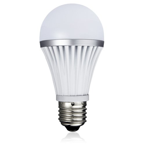 Lighting EVER 7W A19 LED Bulb, Samsung Chip LED, Daylight White, 60W Incandescent Bulb Replacement