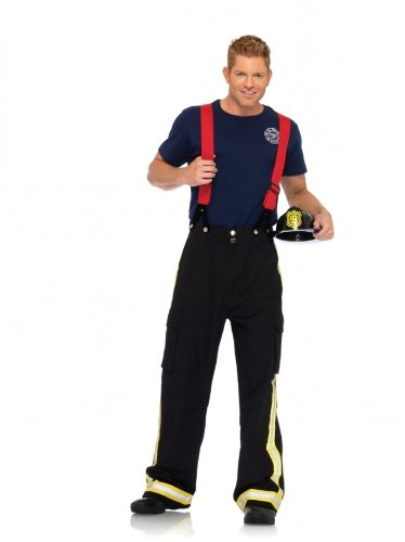 Adult Fire Captain Costume