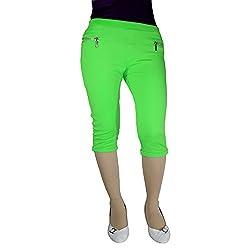 Anjan Fashion Capri For Girl_ANJ47CP5_Green_32