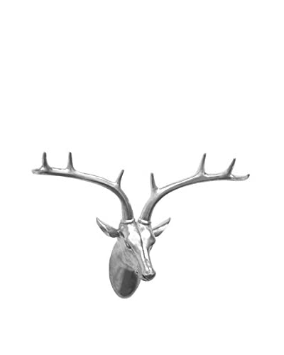 Three Hands Silver Resin Deer Wall Décor
