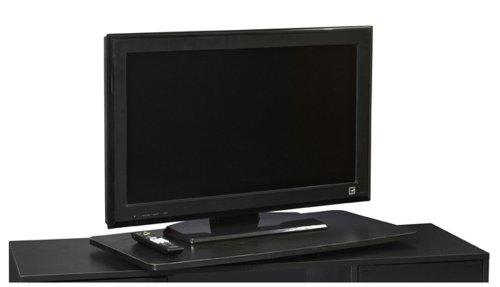 convenience-concepts-designs2go-single-tier-tv-swivel-board-for-flat-panel-tvs-up-to-32-inch-or-60-p