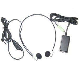 Flx-10 Twin Speaker Headset W/ Volume Control