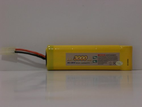 Titan Battery for Nitro Power R72 8.4V 3000mAH Ni-MH High Capacity Battery
