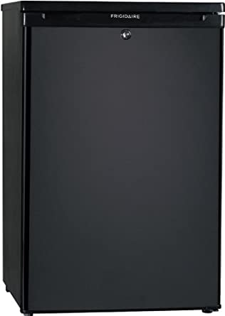Frigidaire FFPH44M4L 4.4 Cubic Foot Compact Refrigerator with Store-More Door Bins and SpaceWise Adju, Black
