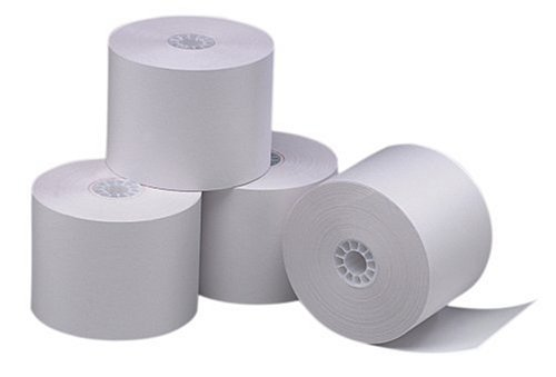 PM Company Perfection POS/Calculator Rolls, 2.25 Inches x 150 Feet, White, 12/Pack (08835)