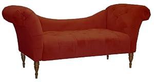 Amazon Com Skyline Furniture Roslyn Double Arm Tufted