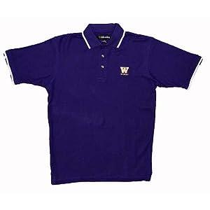 Washington Huskies Tournament Polo Shirt by SportShack INC