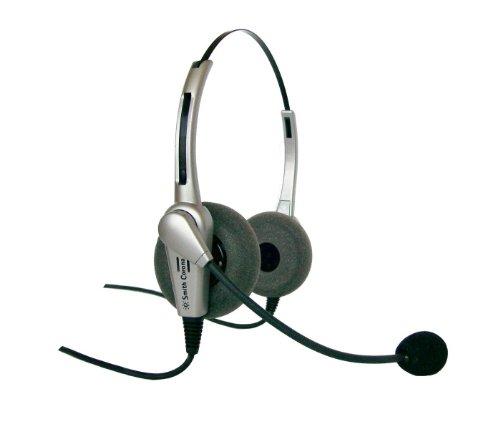 Smith Corona Classic Binaural Headset W/Quick Connect Cord
