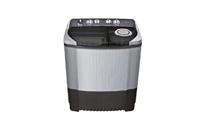 LG P7857R3F Semi-automatic Washing Machine (6.8 Kg, Royal Grey)
