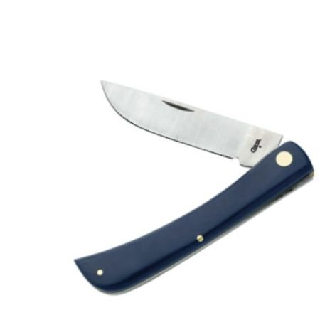 Case American Workman Sod Buster Pocket Knife With Blue Handles