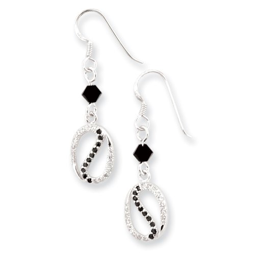 Sterling Silver The Road Less Traveled Sentimental Expressions Earrings
