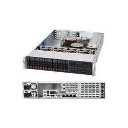 Supermicro SuperChassis SC219A-R920UB System Cabinet - Rack-mountable - Black CSE-219A-R920UB