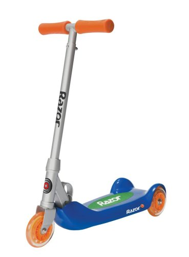 Razor Jr. Folding Kiddie Kick Scooter (Blue)