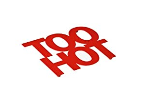 Premier Housewares Too Hot Trivet - Red