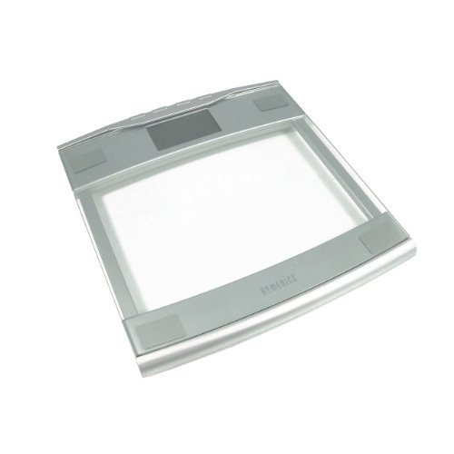 Electronic Scales Homedics Design Silver Glass