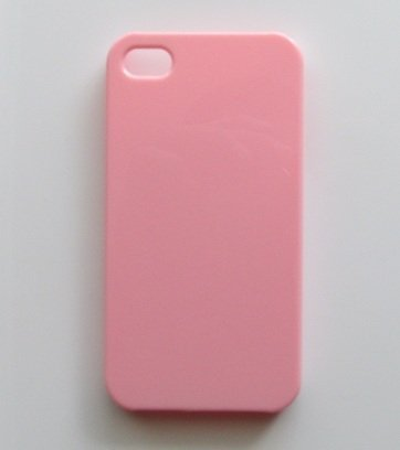New DIY Pink Hard Snap-on Cover Case for Apple Iphone 4/4s --- By Pixiheart