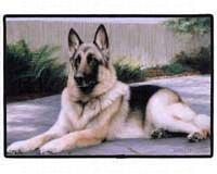 Fiddler s Elbow German Shepherd Porch Doormat