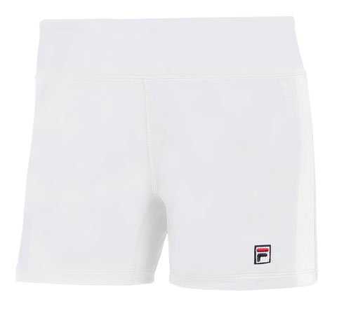 Women's Fila Essenza Toning Ball Shorts WHITE SML REG