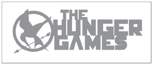 Hunger Games Design 2 Sticker Decal Metallic Silver