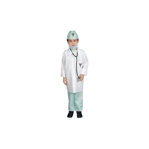 Pretend Doctor Toddler Deluxe Costume Dress-Up Size 2T