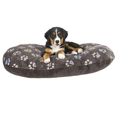 Hundekissen-110x70cm-ber-10-cm-dick-kuscheliges-Hundekissen-mit-leicht-glnzendem-Plschbezug-Mit-Reiverschluss-Bezug-waschbar-30C-ideal-auch-fr-Weidenkrbe-oder-Kunststoffkorb
