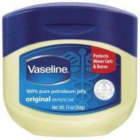 Unilever Bestfoods Vaseline Original 100 Percent Pure Petroleum Jelly 13 Ounce -- 24 per case.