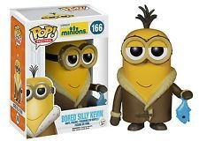 New Collection Funko POP Movies Minions Figure Bored Silly Kevin Vinyl Figure 166 NEW