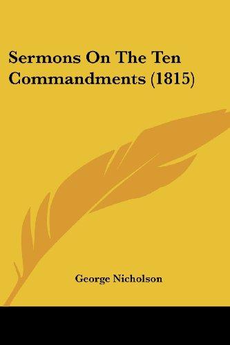 Sermons on the Ten Commandments (1815)