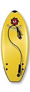Liquid Shredder Element Softsurfboard, Yellow, 4-Feet 2-Inch