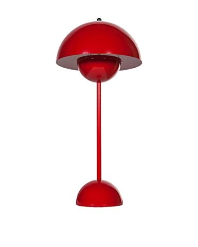 Control Brand The Flower Pot Lamp, Red