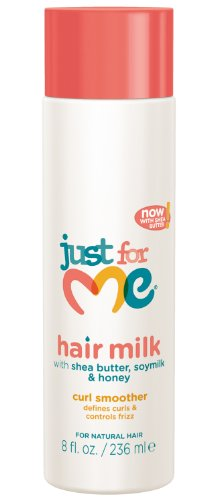 Just For Me Hair Milk Curl Smoother Hair Styler 8 oz (Black Light Hairspray)