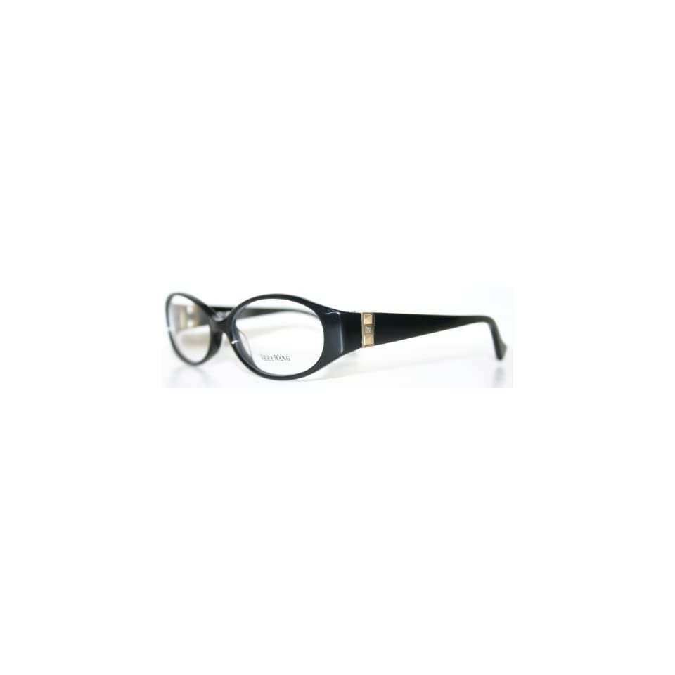 f8be53e0fa2a VERA WANG V195 BLACK New Womens Optical Eyeglass Frame on PopScreen