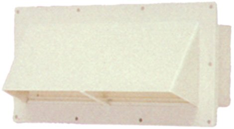 Ventline (V2111-11) Colonial White Horizontal Exterior Wall Vent (Inlet Vent compare prices)