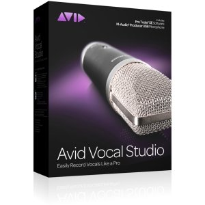 Avid Vocal Studio - Complete Product - 1 User. AVID VOCAL STUDIO W/ PT SE USB MICROPHONE WITH MUSIC MAKING SW VOICE. Music Editing/Composing - Standard Retail - PC, Intel-based Mac