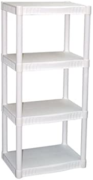 Plano 917702 Molding 4 Shelf Shelving Unit