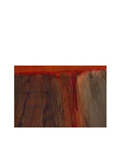Lava Flow I Artwork on Birchwood