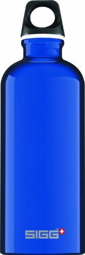 Sigg Traveler Classic Water Bottle (0.6-Liters, Dark Blue) front-755612