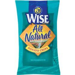 Wise All Natural Potato Chips, 16.0-Oz Bags (Pack Of 9)