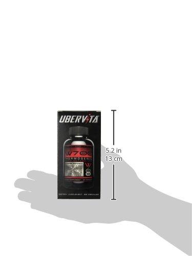 Amazon最热销健身辅助品,Ubervita W700 产热燃脂瘦身胶囊 60粒图片