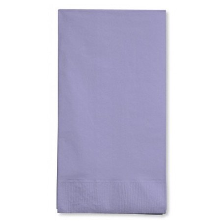 "Durable Big Dinner Paper Napkins Party Supply (50 Pack), 7-3/4 x 7-3/4"", Lavender"