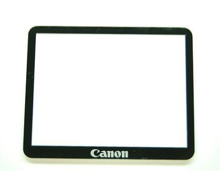 Canon Eos 40D 50D Outer Tft Lcd Screen Display Window Glass Repair+AdhesivE