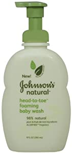 Johnson's Baby Natural Head-to-toe Wash, 9 Ounce