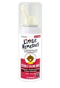 Little Remedies Sterile Saline Mist 0756184160800