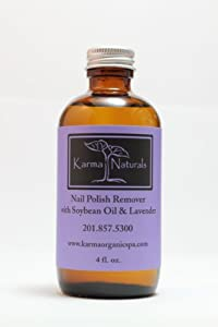 Amazon.com: Karma Naturals Nail Polish Remover In Lavender